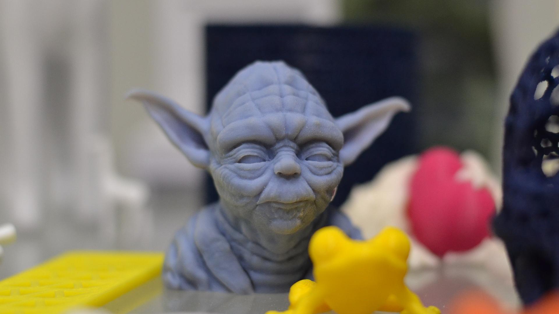 Fotopolymery-Yoda